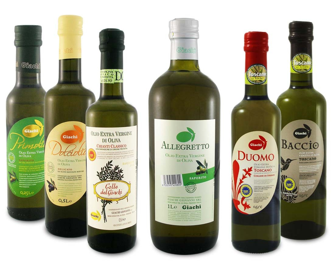 Giachi Extra Virgin Olive Oil