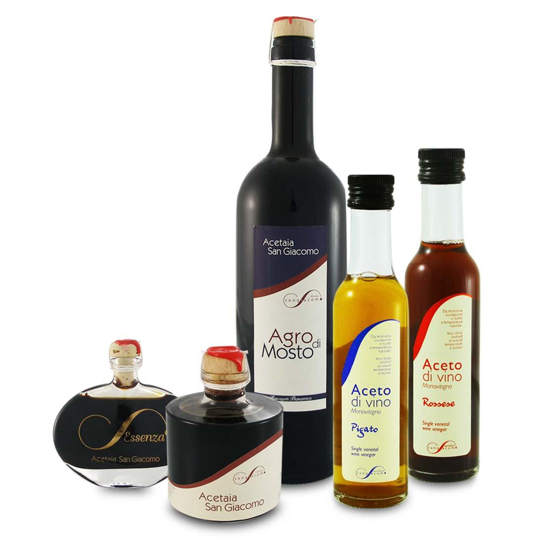 San Giacomo Balsamic & Wine Vinegars